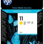 HP INC. C4838A HP NO 11 YELLOW INK CARTRIDGE