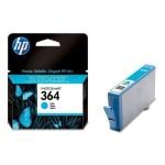 HP INC. CB318EE#BA1 HP 364 CYAN INK CARTRIDGE