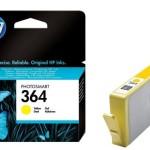 HP INC. CB320EE#BA1 HP 364 YELLOW INK CARTRIDGE
