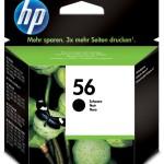 HP INC. C6656AE#UUS HP 56 BLACK INKJET CARTRIDGE,EUR