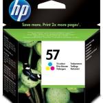 HP INC. C6657AE#UUS HP 57 TRICOLOR INKJET CARTRIDGE EUR