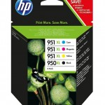 HP INC. C2P43AE HP 950XL/951XL INK CARTRIDGE COMBO PACK