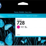 HP INC. F9J66A HP 728 130-ML MAGENTA INK CRTG