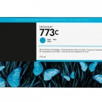 HP 773C 775-ML CYAN INK CARTRIDGE