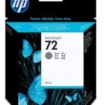 HP INC. C9401A HP 72 69ML GRAY INK CARTRIDGE