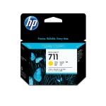 HP INC. CZ136A HP 711 3-PACK 29-ML YELLOW INK CARTRIDGE