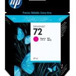 HP INC. C9399A HP 72 69ML MAGENTA INK CARTRIDGE