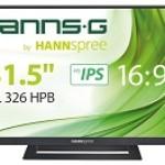 HANNSPREE HL326HPB 32  - 16 9 LED - 1920 X 1080 - HDMI X 2, VGA