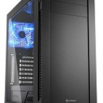 SHARKOON S25-W CASE 2XU3, WINDOW, 1X120 LED, 2X120