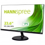 HANNSPREE HS246HFB HANNSPREE MONITOR 23 6 16 9 LED BACKLIGHT BLACK