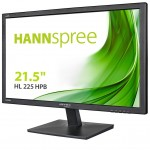 HANNSPREE HL225HPB 21.5  WIDE-1920X1080-250CD/M²-BLACK HDMI VGA