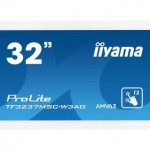 IIYAMA TF3237MSC-W3AG 32  PCAP WHITE ANTI-GLARE BEZEL FREE 12-POINTS