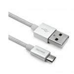 CAVO PER SMARTPHONE MICRO-USB IN NYLON 2 MT B