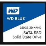 WESTERN DIGI WDS250G2B0A WD BLUE 250GB SSD 2.5 SATA 3DNAND