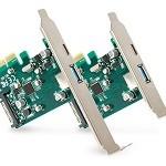 SCHEDA PCIE USB 3.1 TY.C,USB 3.1 TY.A,H.CARD B