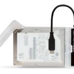HAMLET XADTC-SATA BOX + ADATTATORE USB 3.1 TYPE-C TO SATA III