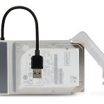 HAMLET XADU3SATA BOX + ADATTATORE USB 3.0 TO SATA III
