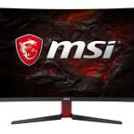 MSI OPTIX AG32C 31.5 CURVED FHD 165HZ DVI+HDMI+DP