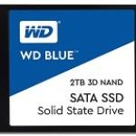 WESTERN DIGI WDS200T2B0A WD BLUE 2TB SSD 2.5 SATA 3DNAND