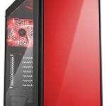 SHARKOON AM5 WINDOW RED 2X U2, 2X U3, WINDOW, 1X 140, 1X 120 LED