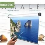 ELECTRIC AMALFI 300X250  TELA BIANCA +RFI