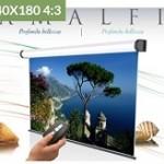 ELECTRIC AMALFI 240X180 (4 3) TELA BIANCA +RFI