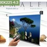 ELECTRIC AMALFI 300X225 (4 3) TELA  BIANCA +RFI