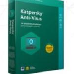 KASPERSKY ANTIVIRUS  1 USER RENEWAL 1 YEAR