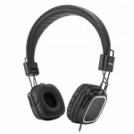 VULTECH HD-08N CUFFIE HEADPHONES NERE CON MICR. E REG.VOL