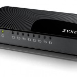 ZYXEL GS-108SV2-EU0101F MINI MEDIA SWITCH 8 PORTE GIGABIT DESKTOP