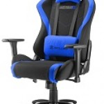 SHARKOON SKILLER SGS2 BLACK/BL GAMING SEAT FABRIC CLASS-4 GASLIFT3D ARMREST 60MM