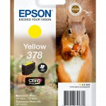 EPSON C13T37844010 SINGLEPACK YELLOW378 CLARIA PHOTO HD INK SCOIATTOL