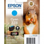 EPSON C13T37824010 SINGLEPACK CYAN378 CLARIA PHOTO HD INK SCOIATTOLO