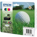 EPSON C13T34764010 MULTIPACK 4COLOURS34XL INK PALLINA DA GOLF