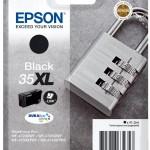 EPSON C13T35914010 CARTUCCE INK DURABRITE ULTRA 35XL LUCCHETTO NERO