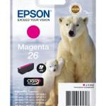 EPSON C13T26134012 CARTUCCIA CLARIA  PREMIUM 26 ORSO POLARE MAGENTA