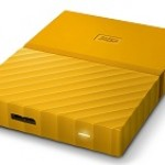 WESTERN DIGI WDBYFT0020BYL MY PASSPORT  2TB YELLOW