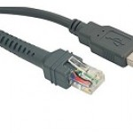CABLE - USB  SERIES A CONNECTOR, 9FT. (2.8M)