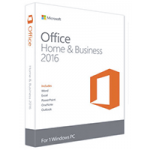 MICROSOFT OFFICE HOME AND BUSINESS 2016 WIN ENGLIS