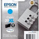 EPSON C13T35924010 CARTUCCE INK DURABRITE ULTRA 35XL LUCCHETTO CIANO