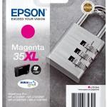 EPSON C13T35934010 CARTUCCE INK DURABRITE ULTRA35XL LUCCHETTO MAGENTA