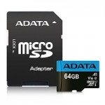 ADATA TECHNO AUSDX64GUICL10A1-RA1 64GB MICRO SDXC UHS-I CL10 A1 85MB/S - 25MB/S