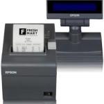 EPSON POS C31CB75001JD FP81II ECW 58MM TAST 23.LCD BLU CUT.ALIM USB RS232