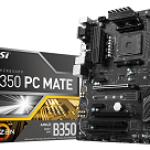 MSI B350 PC MATE U-ATX 1151 REFURBISHED