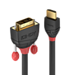 LINDY LINDY36274 CAVO HDMI A DVI-D BLACK LINE, 5M GOLD