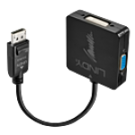LINDY LINDY41028 ADATTATORE DISPLAYPORT 1.2 A HDMI 4K30/DVI/VGA