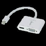LINDY LINDY41070. ADATTATORE MINI-DP 1.2/HDMI 4K   VGA (ATTIVO)