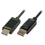 LINDY LINDY41716 CAVO DISPLAYPORT / HDMI 1M