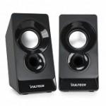 VULTECH SP-320N CASSE ACUSTICHE 2.0 AUTOAL. USB 2.0  NERE