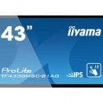 IIYAMA TF4338MSC-B1AG 43  PCAP  ANTI-GLARE BEZEL FREE 12-POINTS TOUCH